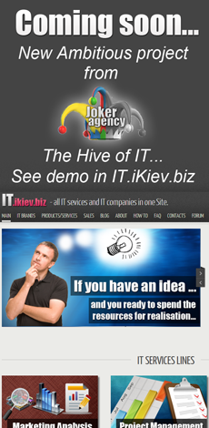 IT Ikiev BIZ - New Project. All